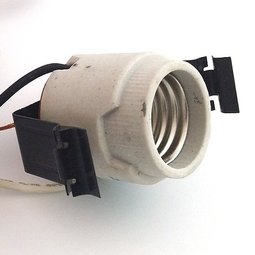 5 recessed lighting socket with pigtail and over heat sensor