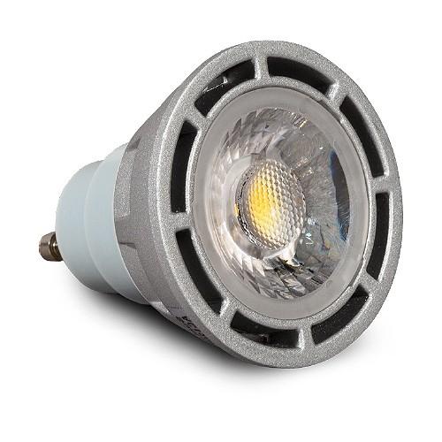https www totaltracklighting com architectural grade led gu10 mr16 light bulb flood 3000k smart dim silver html