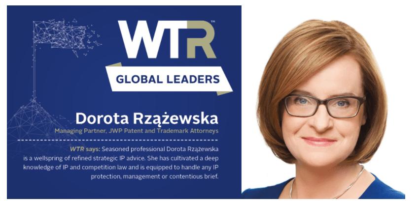 WTR Global Leaders 2020: Dorota Rzążewska - Lexology