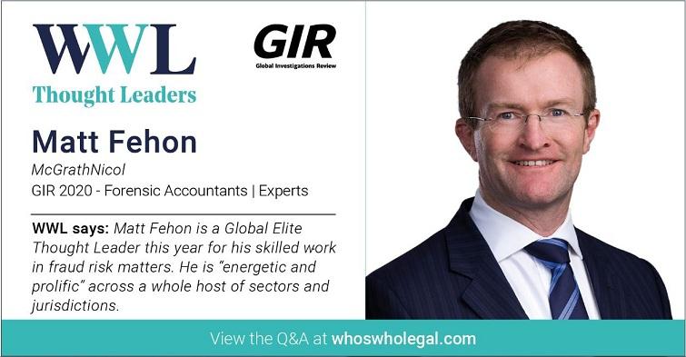 Thought Leaders - GIR 2020: Matt Fehon - Lexology