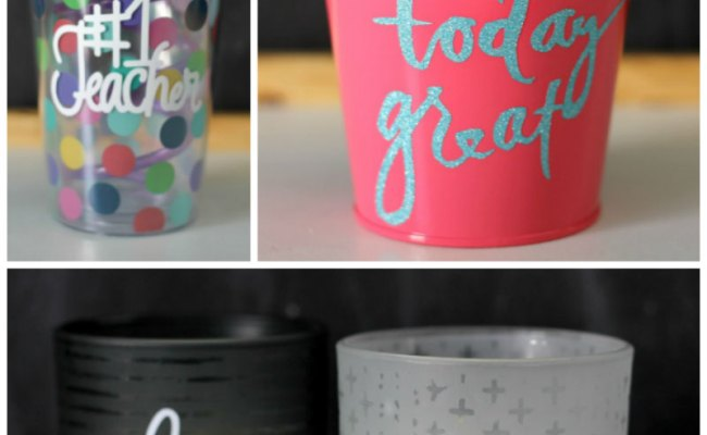 Make These Easy Vinyl Gifts In Under 30 Minutes Cricut