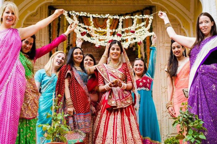 Classic Elegance At Samode Palace Jaipur WedMeGood