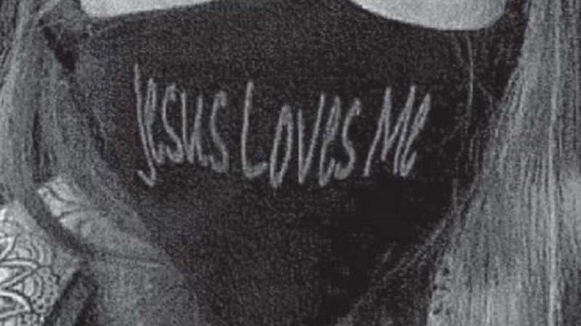 JesusLovesMeMask