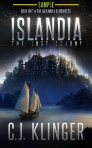 Islandia: The Lost Colony (Book One of the McKinnah Chronicles) (Sample) by CJ Klinger