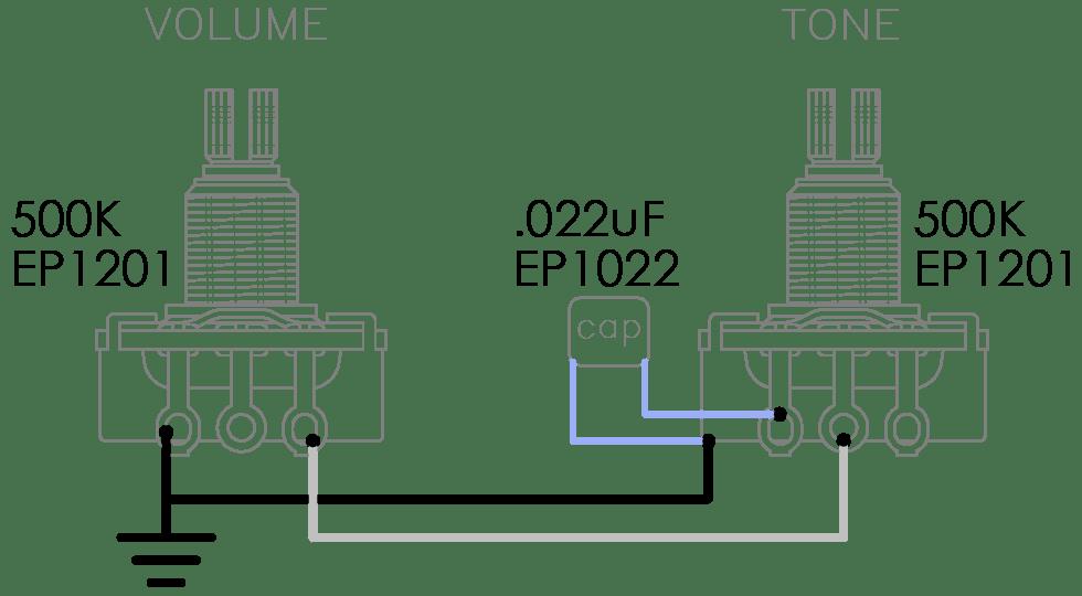 Dimarzio Crunch Lab Wiring Diagram