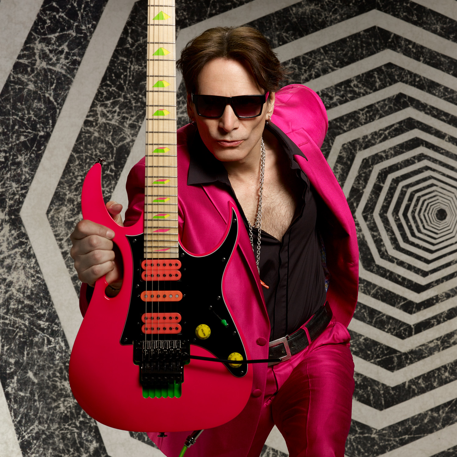 hight resolution of steve vai photo by larry dimarzio