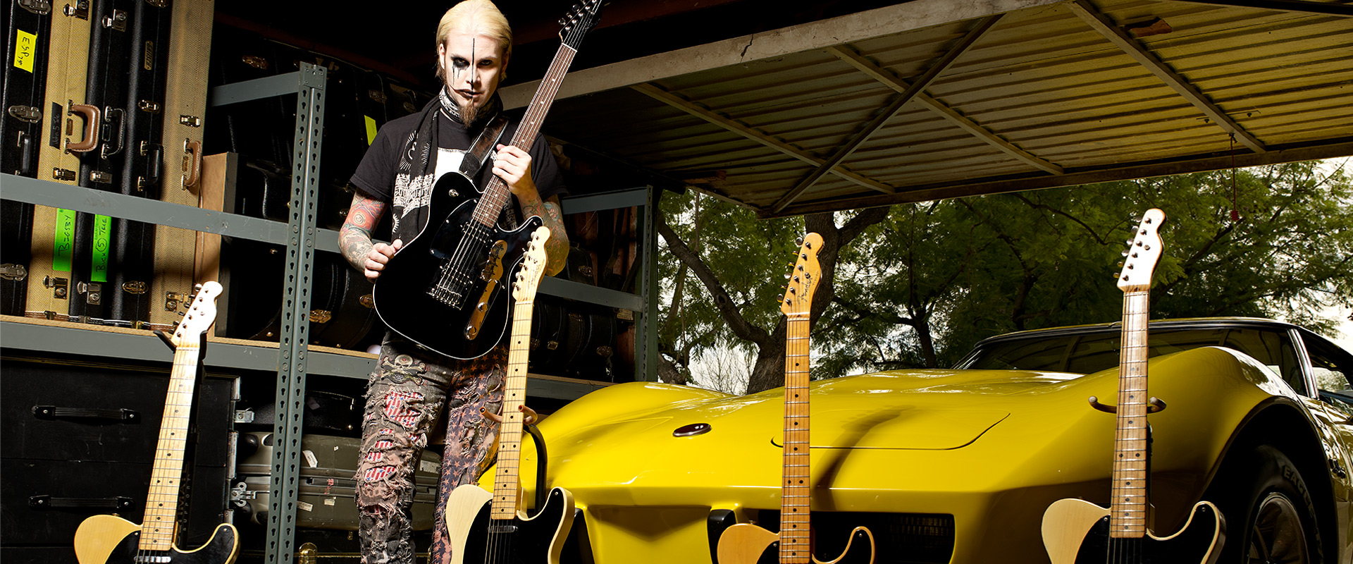hight resolution of john 5 for dimarzio