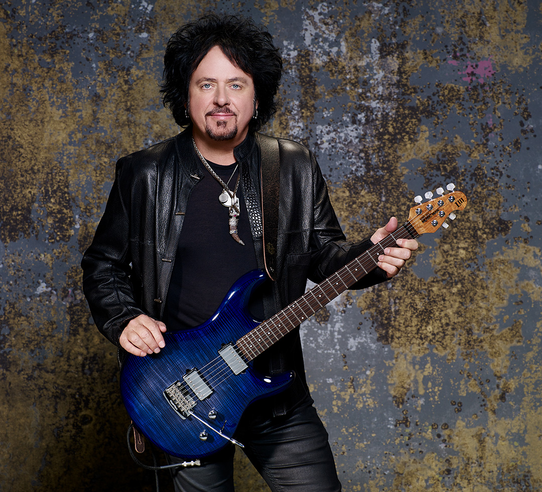 hight resolution of steve lukather for dimarzio