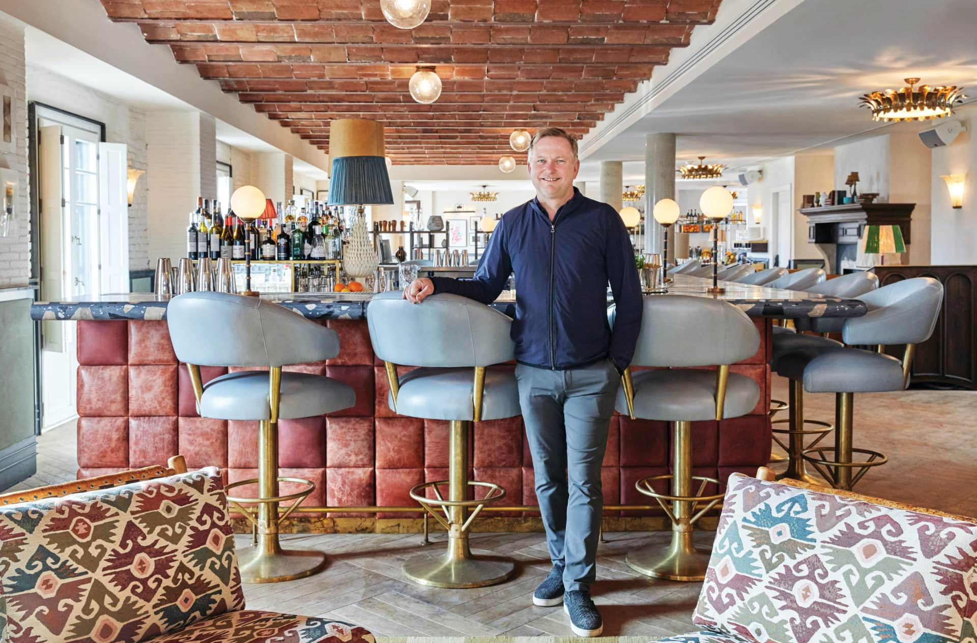 A Tour Of Soho House Hong Kong With Founder Nick Jones