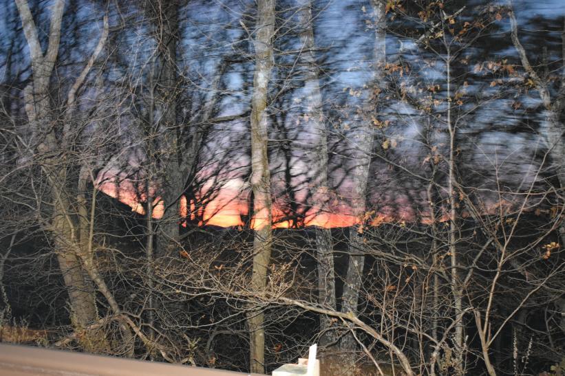 Sunset at Wintergreen