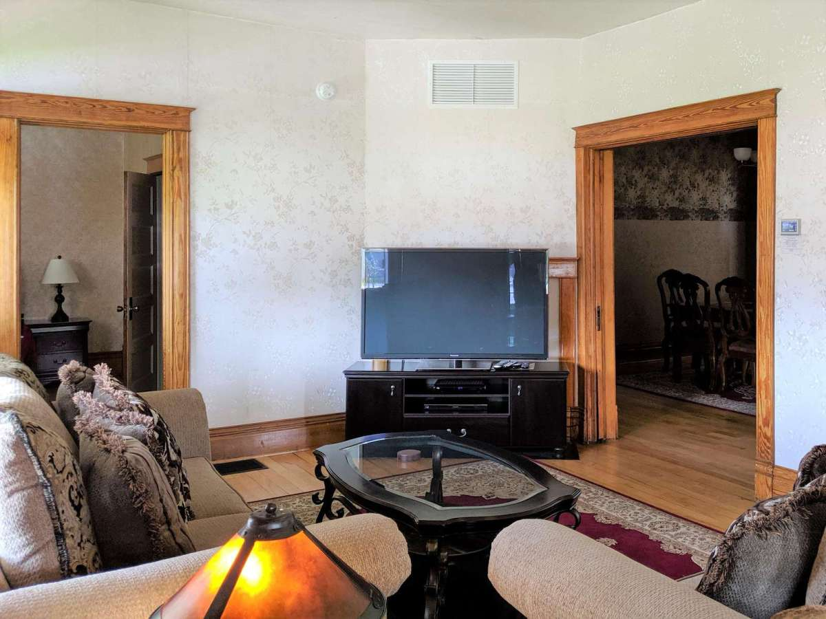 Easy Access to the Kitchen and Dining Area