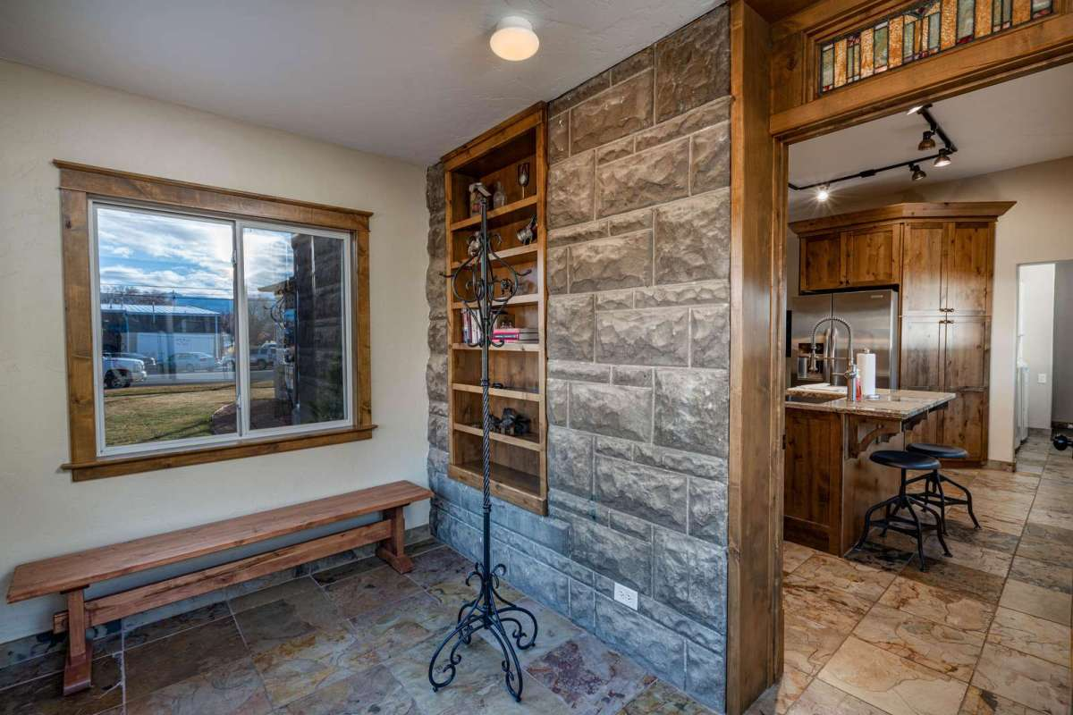 Mud Room Located off the Patio