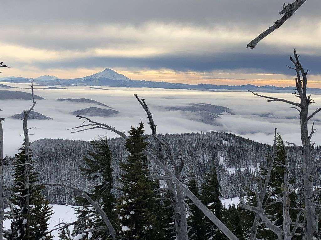Every season in Oregon has magic. Visit Mt Hood to ski- 1.5hr drive to heaven!