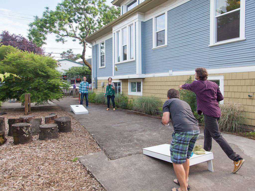 Cornhole! The best game for all ages is here for hrs of laughter.