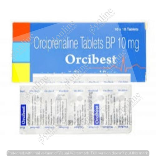 Orcibest 10 Mg   Alupent   Orciprenaline   It's Uses ...