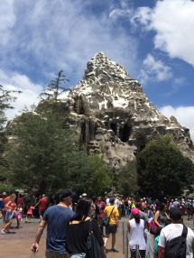 Matterhorn Ride Disney World
