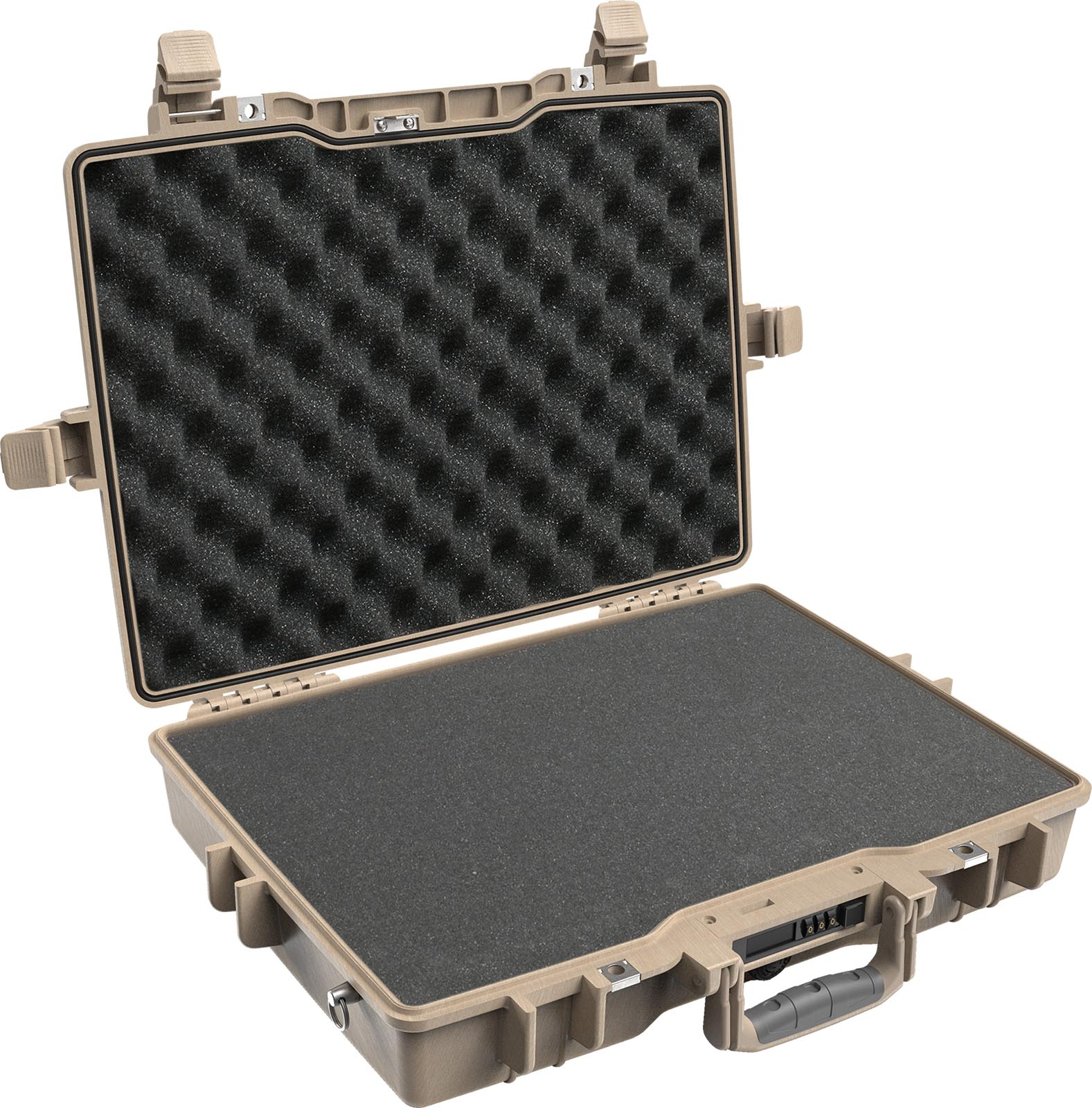 hight resolution of pelican 1495 protector desert tan foam case