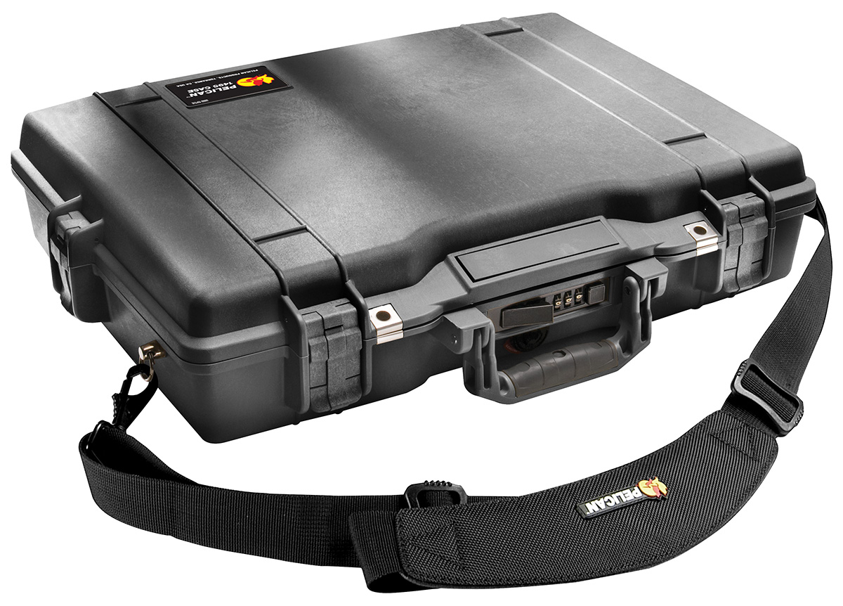 hight resolution of pelican 1495 secure strong case laptop briefcase