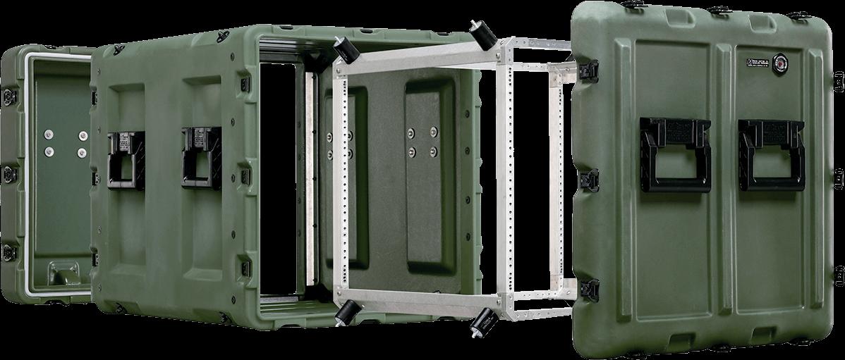 rack mount cases peli