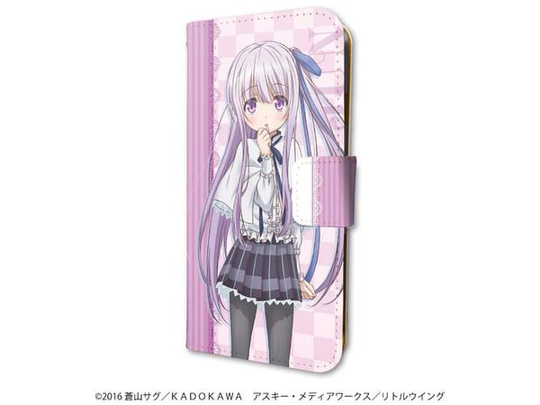 手帳型スマホケース(iPhone6 : 6s : 7兼用) 天使の3P! 01 : 五島潤 by ...