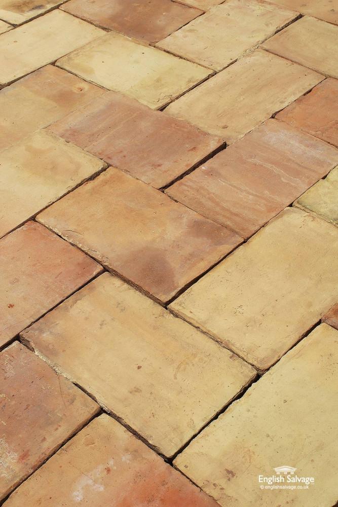 For Sale Reclaimed Old Buff Ceramic Floor Tiles