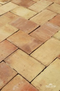 For Sale Reclaimed Old Buff Ceramic Floor Tiles