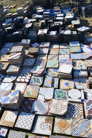 antique italian ceramic tiles