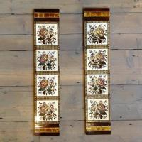 For Sale Antique Fireplace Tiles- SalvoWEB UK