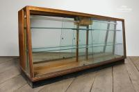 For Sale Vintage Wooden Display Cabinet with Drawers ...