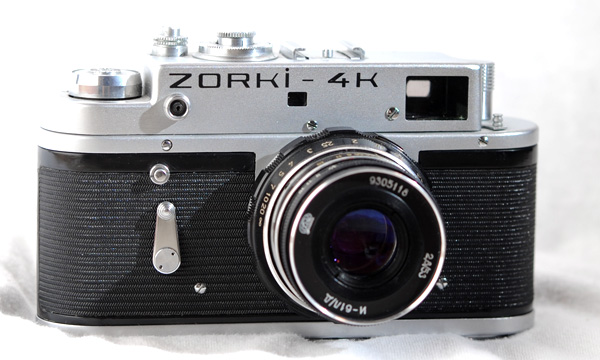 russian and soviet cameras