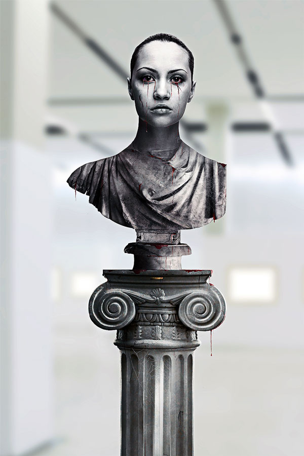 Greek Sculpture Photo Effect