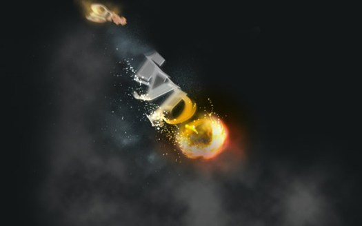 Create a Spectacular Flaming Meteor Effect on Text