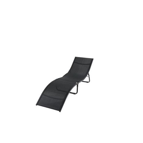 fauteuil central park wave noir