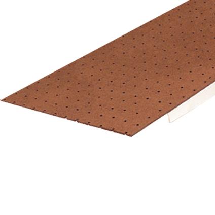 panneau dur sencys brun perfore 122x61x0 3cm