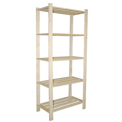 etagere baseline bois 70 x 30 x 170 cm