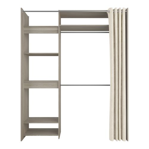 kit placard odeon shannon extensible 112 168cm