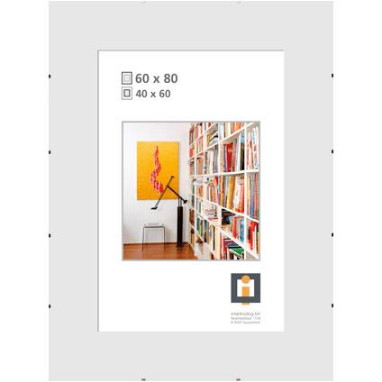 cadre photo sans bordure intertrading 60 x 80 cm