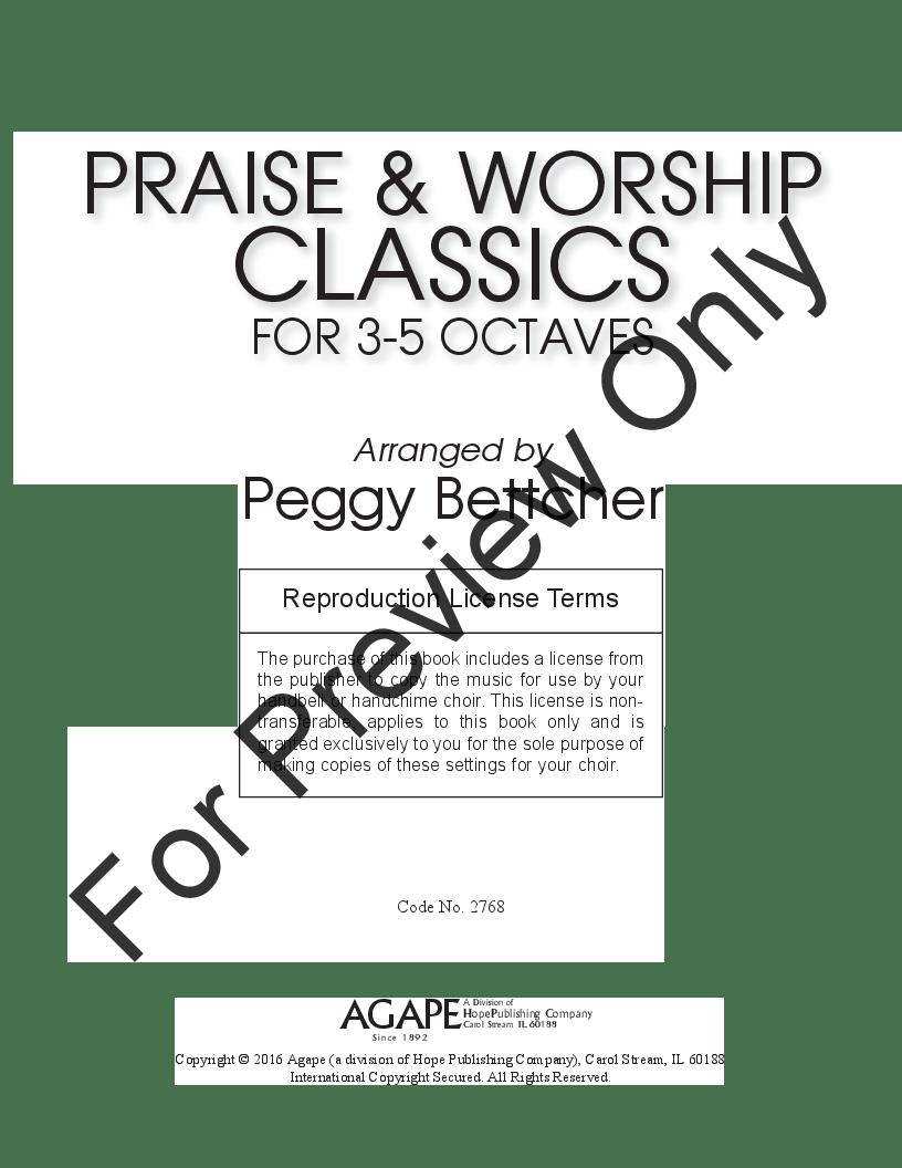 Praise and Worship Classics arr. Peggy Bettcher| J.W
