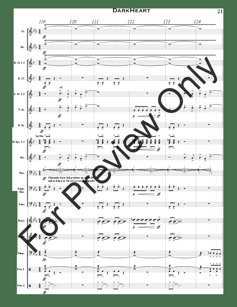 DarkHeart by Randall Standridge  J.W. Pepper Sheet Music