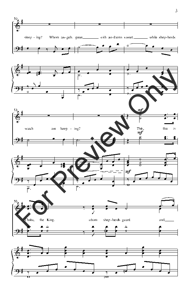 What Child Is This? (SATB ) arr. James Koerts| J.W. Pepper