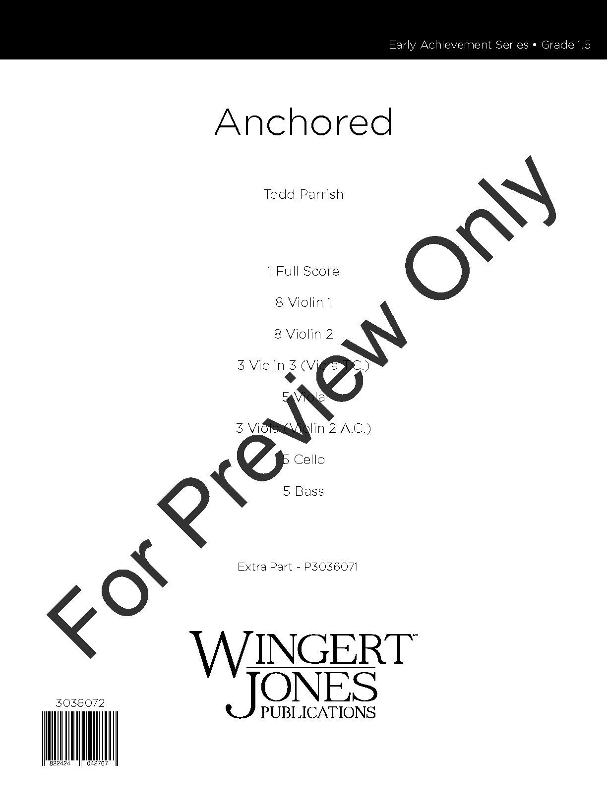 Anchored by Todd Parrish| J.W. Pepper Sheet Music