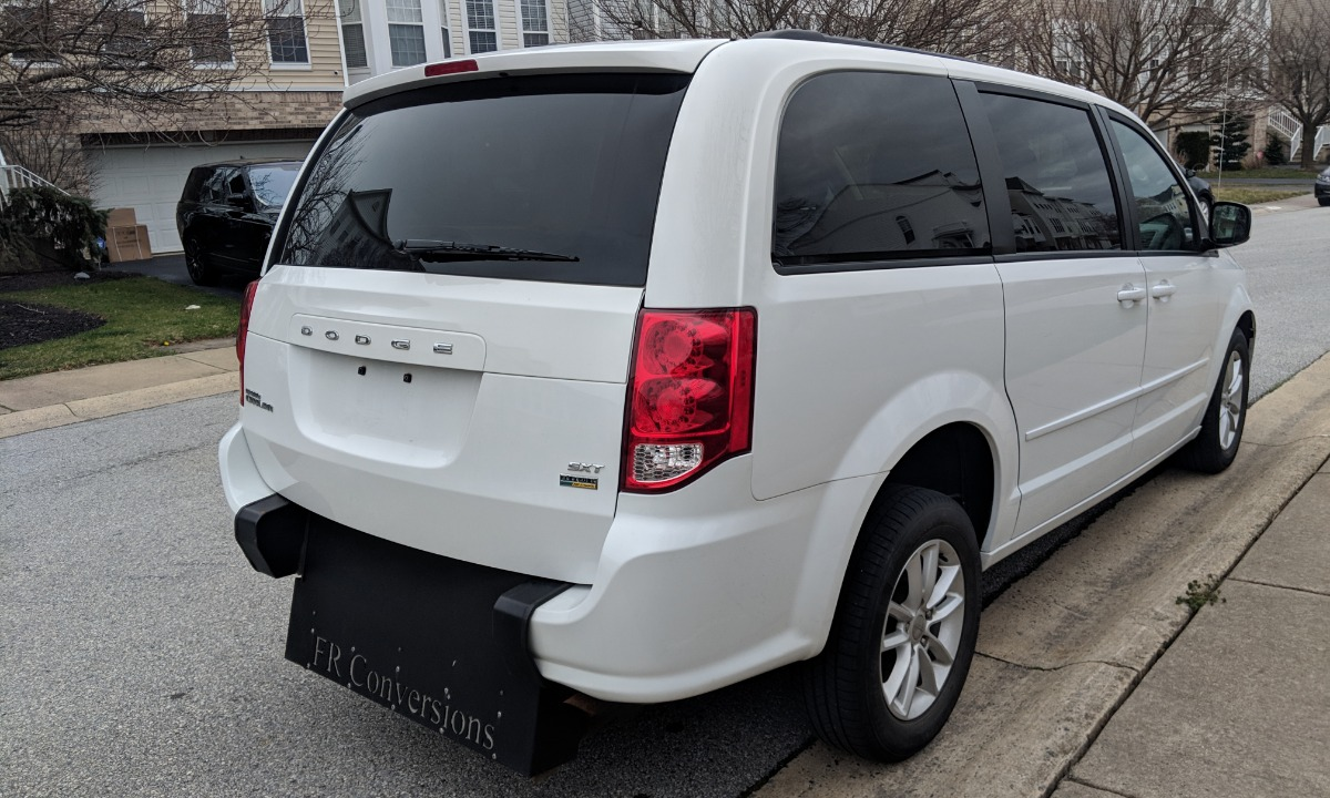 hight resolution of 2016 used 2016 dodge grand caravan sxt wheelchair van