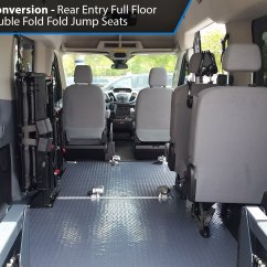 Wheelchair Jump Adirondack Chair Plans Free Ams Ford Transit Rear Lift Accessible Van