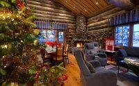 Santa's Lapland Log Cabin Holidays   4 Bedroom Christmas ...