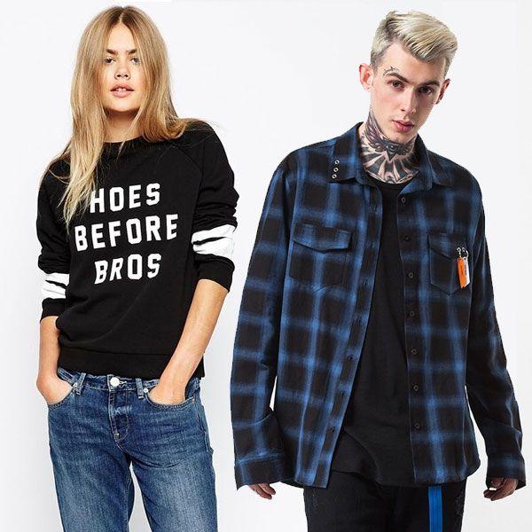 alternative clothing shop edgy