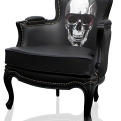 Skull Chair Rattan Lounge 15 Badass Chairs Of All Time Bergere Leather