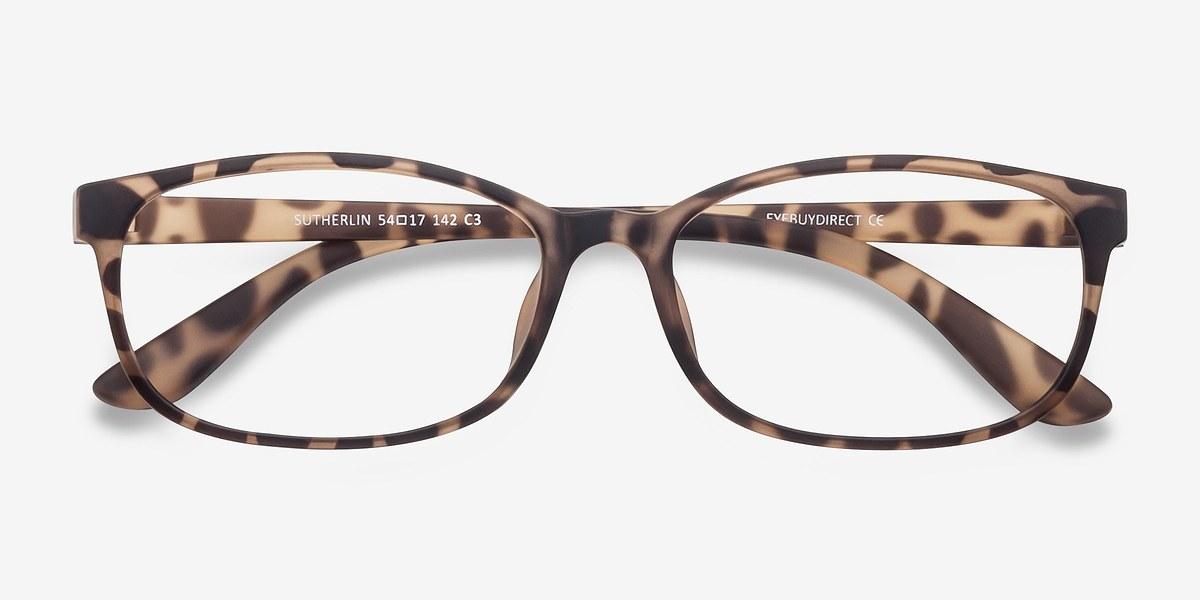 Sutherlin Tortoise Women Plastic Eyeglasses EyeBuyDirect