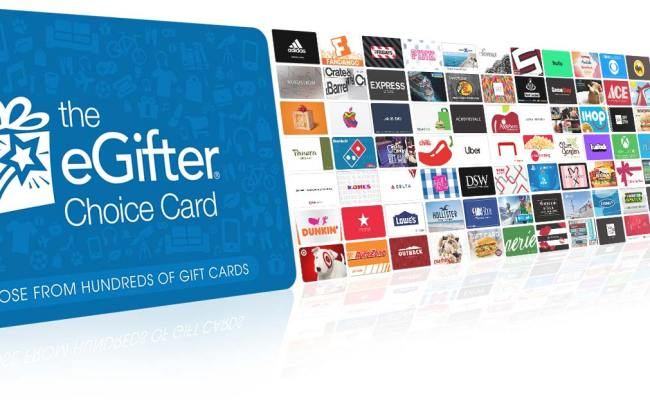 Egifter Online Gift Cards Group Gifting