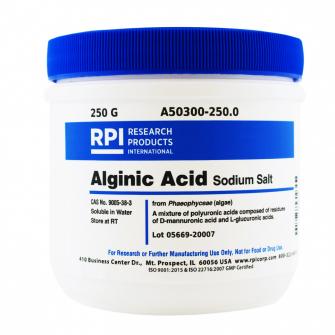 A50300-250.0 - Alginic Acid Sodium Salt 250 Grams