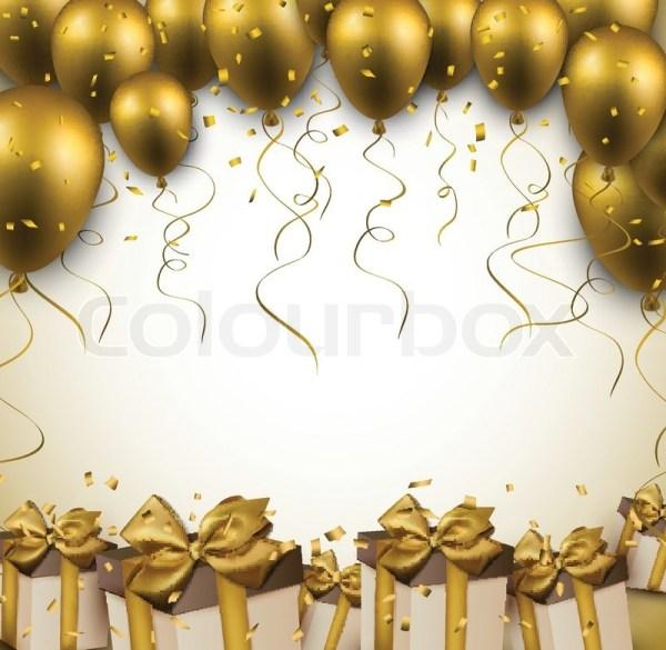 celebration golden background